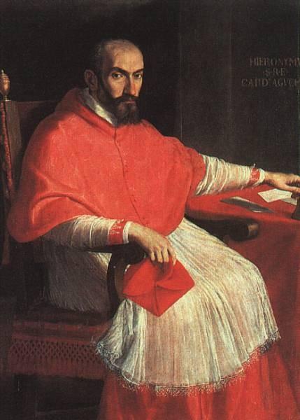 Portrait of Cardinal Agucchi WGA